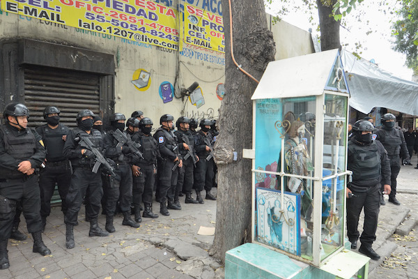 Tepito operativo colonia morelos detenidos