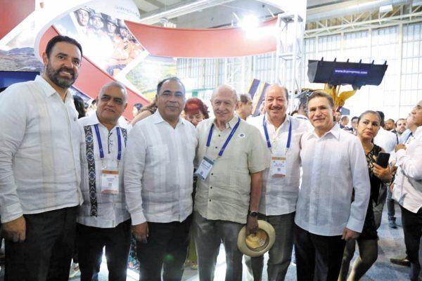 A BUEN PUERTO. Astudillo resaltó que el evento sea en Acapulco. Foto: Especial.