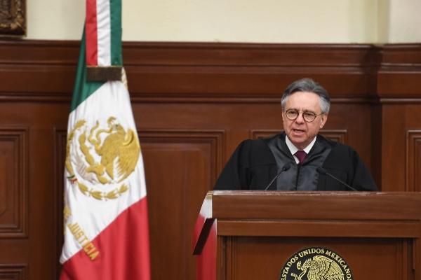Eduardo Medina Mora renunció en medio de un polémica.  FOTO: SCJN /CUARTOSCURO.COM