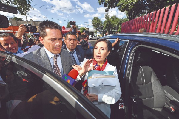PROCESO. Rosario Robles permanece recluida. Foto: Especial