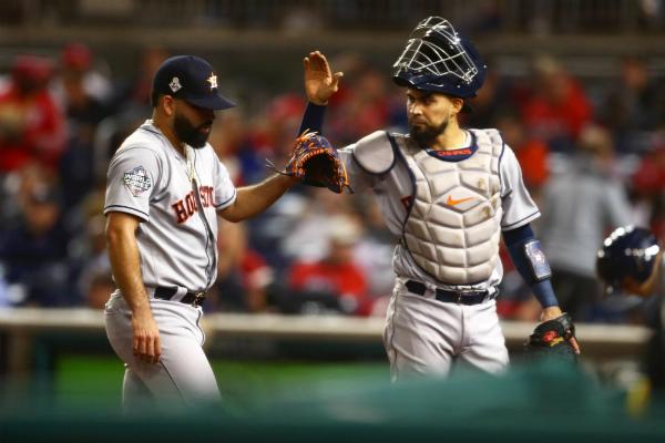 Astros de Houston vencieron 8-1 a los Nacionales de Washington. Foto: Especial.