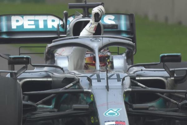 Lewis Hamilton se coronó. Foto: F1