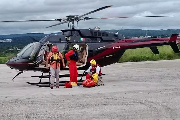 El operativo de búsqueda y rescate duró tres horas. Foto: Especial