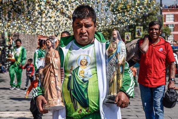 Dia de San Judas Tadeo afectaciones viales Iglesia de san hipolito
