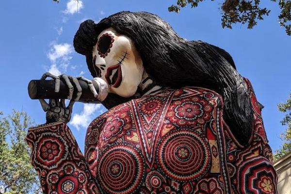 Catrina Selena Dia de Muertos San Antonio Texas