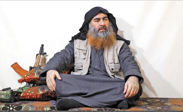 LÍDER. Al-Baghdadi fue primero parte de Al-Qaeda. Foto: AP