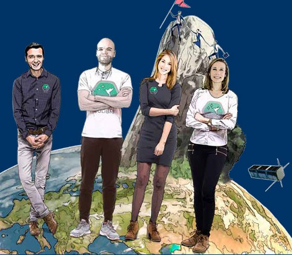 El objetivo de Pakal, es obtener datos sobre la órbita baja de la Tierra. Ilustración: Norberto Carrasco
