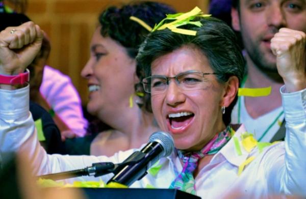López superó las encuestas, que desde hace un mes la daban como segunda en las elecciones. FOTO: EFE