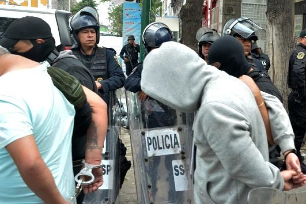 Dos de los imputados aseguran que fueron capturados en Estanquillo. Foto: EFE