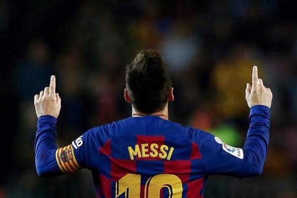 Lionel Messi consiguió par de goles en la victoria. EFE