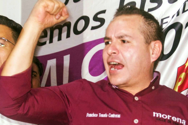 Francisco Tenorio Contreras, alcalde de Valle de Chalco FOTO: FACEBOOK