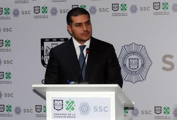 Omar Hamid García Harfuch, secretario de Seguridad Ciudadana. Foto: Cuartoscuro