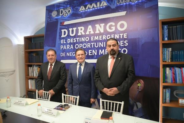 Aispuro Torres, gobernador de Durango, comentó que hoy están más cerca de avanzar en las demandas de tener una planta armadora