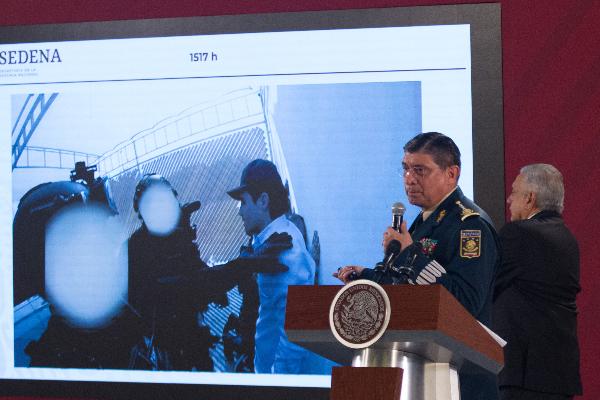 Gabriel Regino descarta riesgo de coronel que coordinó operativo contra Ovidio Guzmán