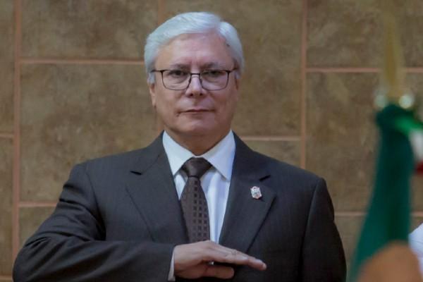 Jaime Bonilla Valdez tomó protesta como Gobernador Constitucional de Baja California. Foto: Cuartoscuro
