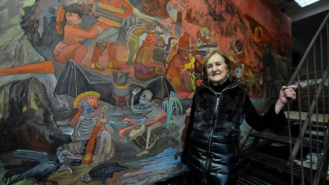 HONRA. El INBA organizará, en fecha próxima, un homenaje a Lazo en el Museo Mural Diego Rivera. Foto: Cortesía