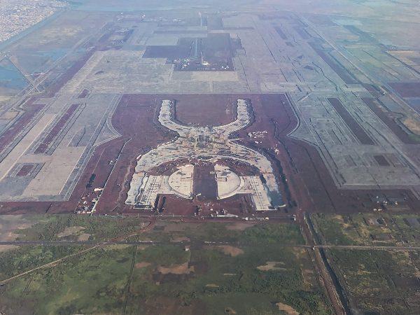 Citapia fue subcontratada para levantar la estructura metálica de la Torre de Control del NAIM. Foto: CUARTOSCURO