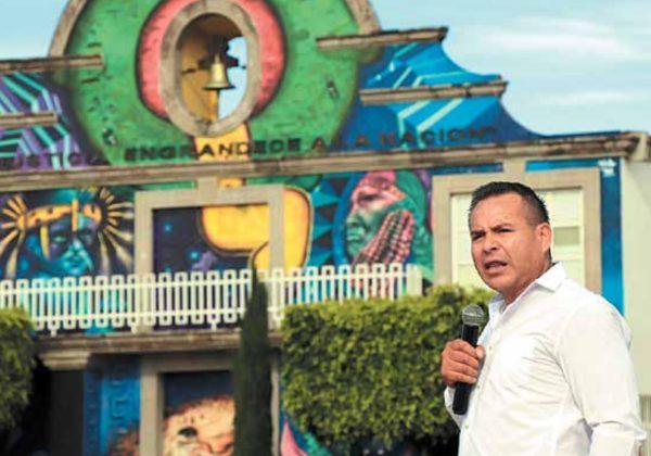REPOSO. Los restos del alcalde yacerán junto a los de su padre, en Juchitepec, Edomex. Foto: Especial.
