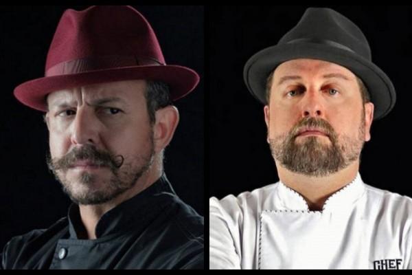 El Chef Benito y el Chef Herrera se mostraron molestos con la producción de MasterChef. Foto: Especial