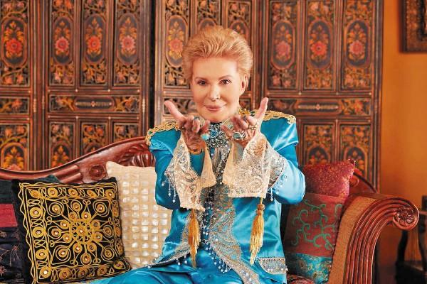 TRABAJO. Desde los 90, hasta el 8 de enero de 2010, tuvo su propio programa en Univisión. Foto: Especial