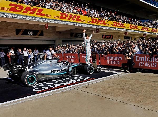 Aún faltan dos carreras para que se termine la Fórmula 1. Foto: AFP