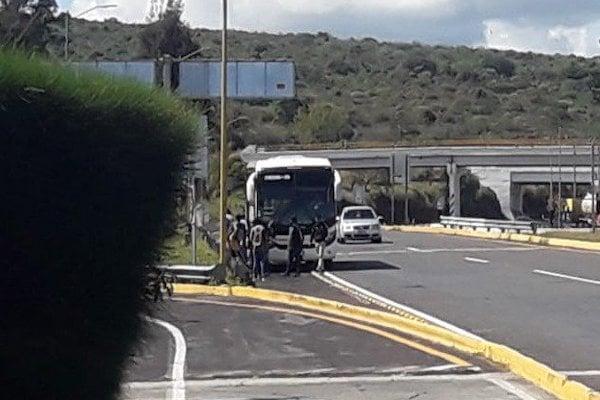 Michoacan normalistas protestas 4 novimebre