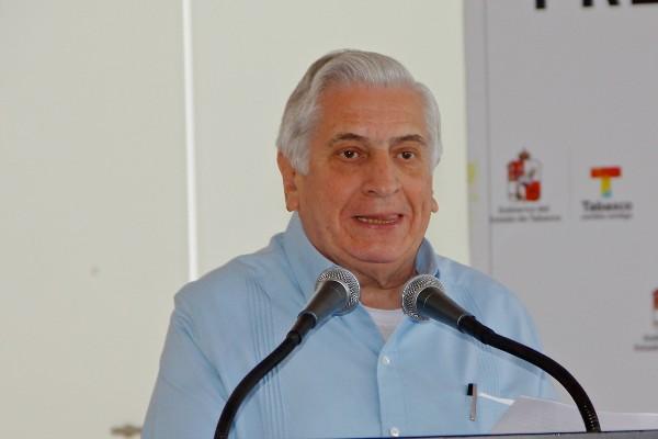 Arturo Núñez Jiménez, exgobernador de Tabasco. Foto: Cuartoscuro