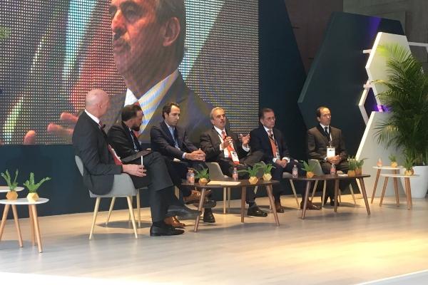 Panel de Directores de FIBRAs: La Visión de los Líderes. Fibra Day de Amefibra FOTO:TWITTER  @AMEFIBRA