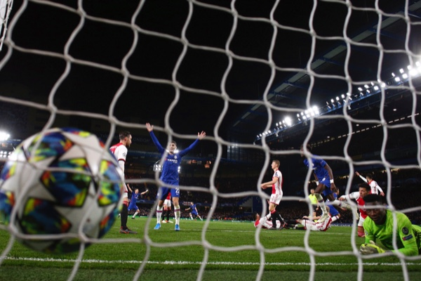 La jornada de martes de la Champions League. AP