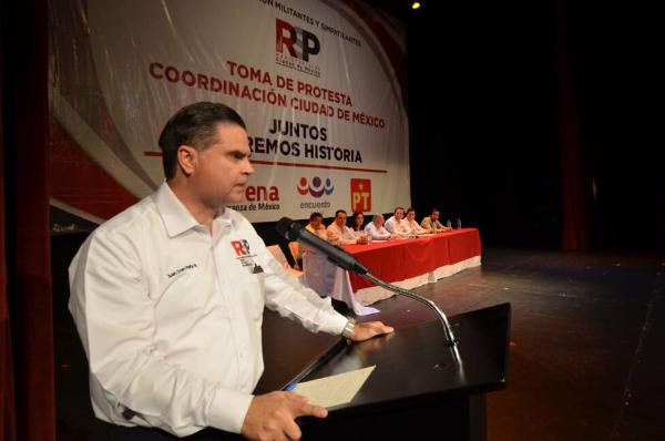 INE reconoce dirigencia de Redes Sociales Progresistas; explica Juan Iván Peña Neder