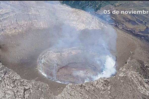 El domo que generó el volcán Popocatépetl es el número 85. Twitter