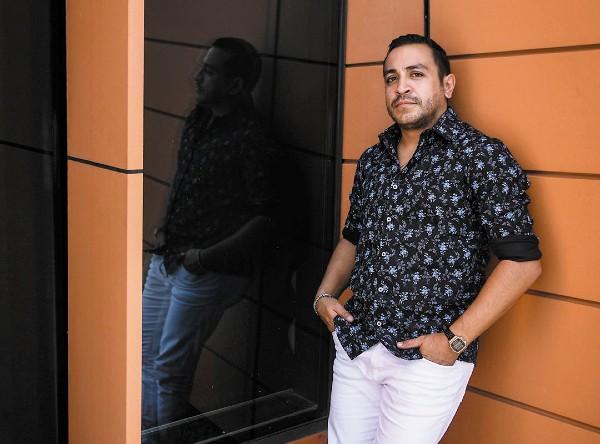 Luis Fernando Peña ha participado en televisión en Teresa, El César y Clase 406. Foto: Nayeli Cruz