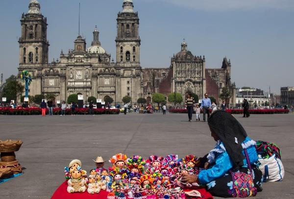 La Catederal Metropolitana de la Ciudad de México es una de las dos con que cuenta la CDMX. FOTO: Cuartoscuro