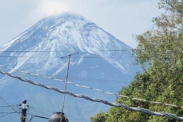Las mejores imágenes fueron las tomadas desde Tonila y Zapotlán el Grande, Jalisco. Foto: Especial