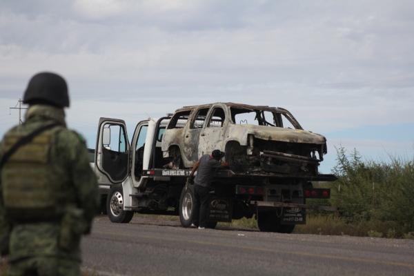 La zona ya es resguardada por fuerzas armadas. Foto: Cuartoscuro