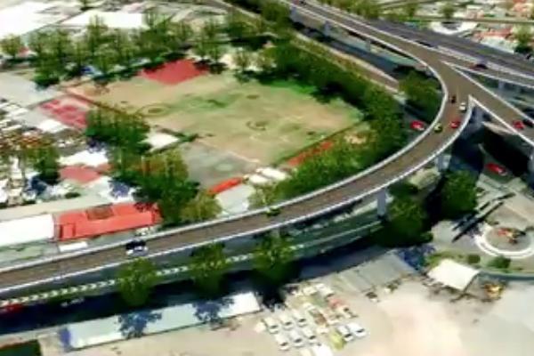 puentes peatonales y vehiculares cdmx