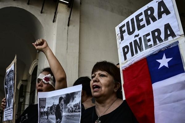 Crisis Chile denuncian presidente Sebastián Piñera