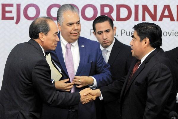 ENCUENTRO. El gobernador se reunió con líderes del Consejo Coordinador Empresarial. Foto: ENFOQUE