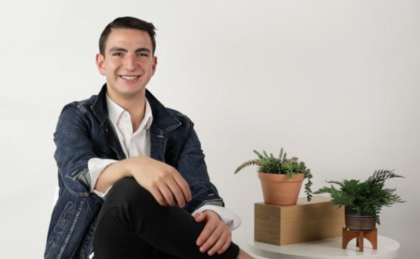 IDEA. El proyecto de David Samra se centra en crear conciencia filantrópica en jóvenes. Foto: Cortesía