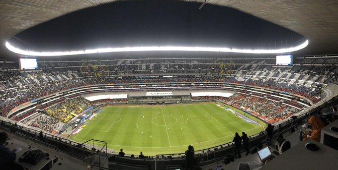 Estadio Azteca en la actualidad. Foto: @royrruano