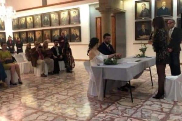 La presunta boda se había registrado en el Palacio Municipal de Guadalajara. Especial