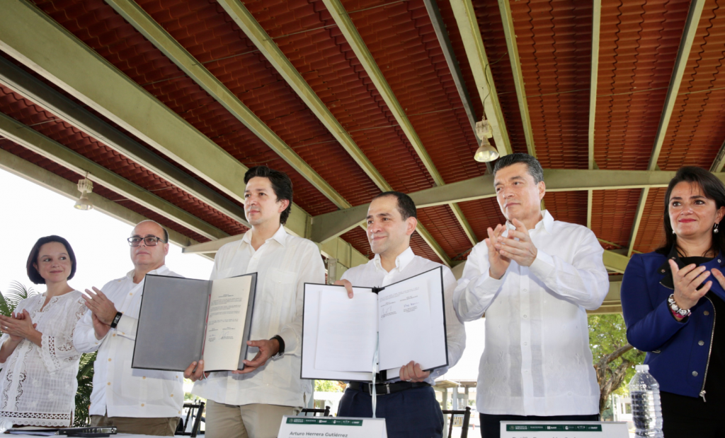 Herrera anticipó que México, en coordinación con los países de Centroamérica, se encuentran trabajando en otras iniciativas importantes. Foto: Especial