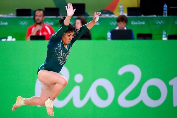 BRILLANTE. Moreno tuvo un destacado año en gimnasia. Foto: MEXSPORT