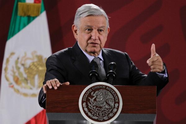 Andrés Manuel López Obrador, presidente de México. Foto: Notimex.