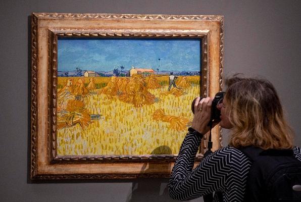 Vincent van Gogh La noche estrellada El Heraldo Radio CDMX