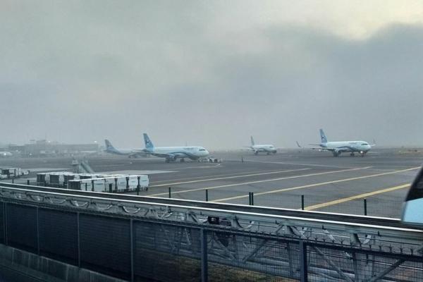Aeropuerto Internacional de la Ciudad de México. Foto: Cuartoscuro