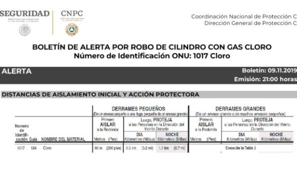 El gobierno de Guanajuato alertó a los 46 municipios de la entidad. FOTO: @CNPC_MX