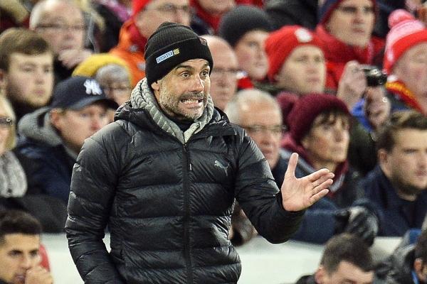 Pep Guardiola, entrenador del Manchester City. Foto: EFE