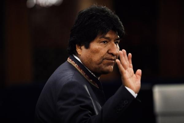 Evo Morales renunció hoy a la presidencia del país andino. Foto: EFE