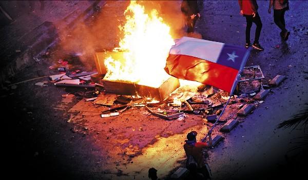 EL SALDO ROJO. 20 personas han muerto en las protestas. Foto: AFP